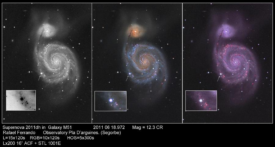 SN 2011DH - M51 - FERRANDO