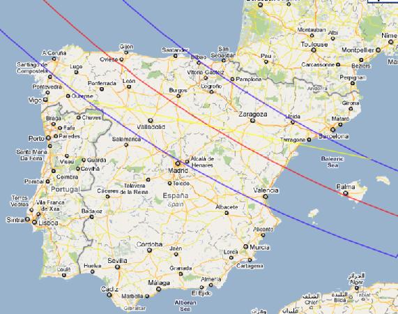 Sun eclipse - 12 Aug 2026 - Spain