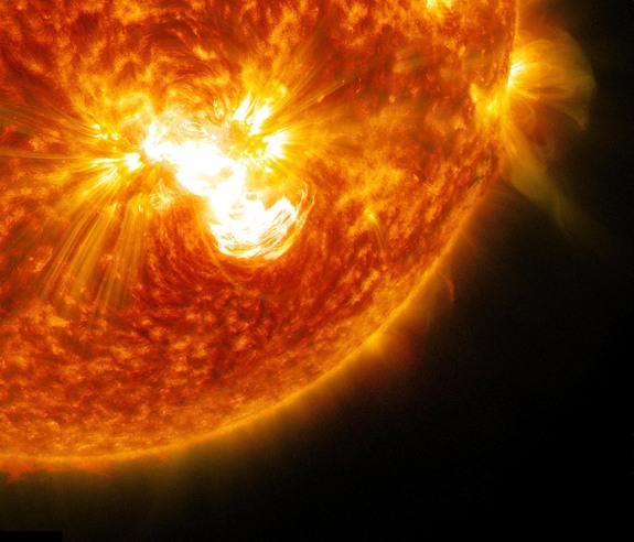Sun - Giant Sunspot solar-flare X3.1 - Oct 24 2014
