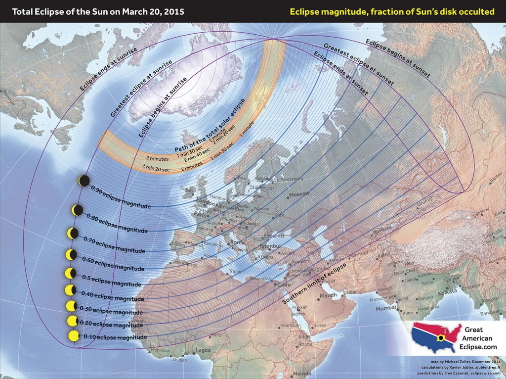 Partial Solar eclipse - 20 Mar 2015 - Zeiler
