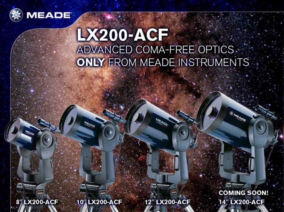 telescopio Schmidt Cassegrain Meade 200