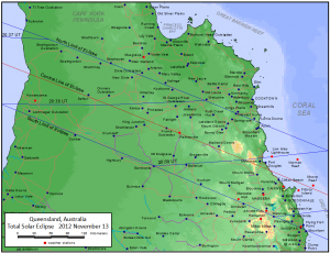 China 09 - Australia 2012 - map