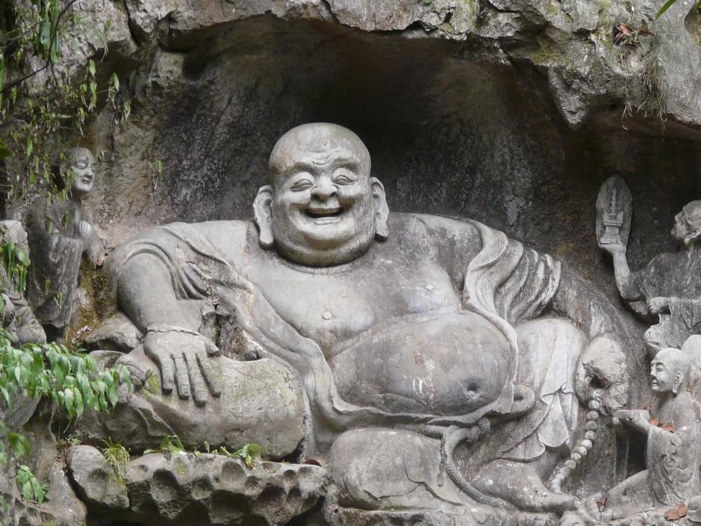 China 09 - P1020346 - Hangszhou - Templo Lingyin - Templo del Alma Escondida - Grutas - 4